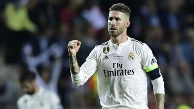 Sergio Ramos Real Madrid UEFA Super Cup 2018