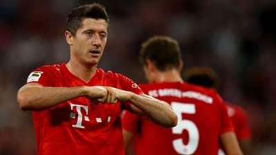 Robert Lewandowski FC Bayern Hertha BSC