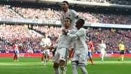 CASEMIRO RAMOS VINICIUS Atletico Madrid Real Madrid LaLiga