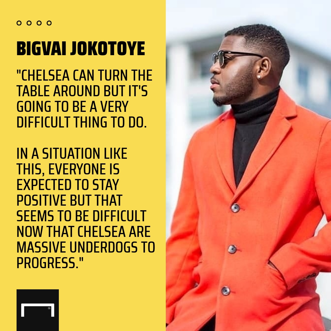 Chelsea can turn Bayern Munich tie around – Nollywood star Bigvai Jokotoye