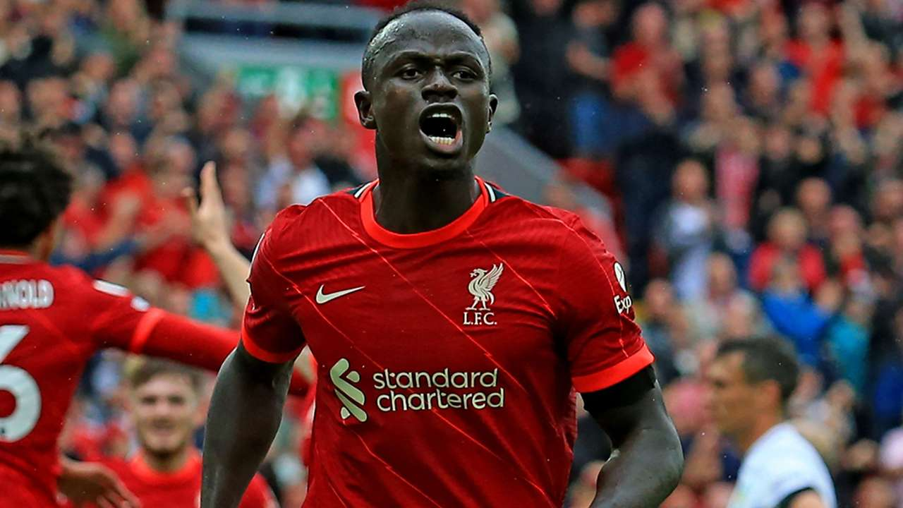 Sadio Mane Liverpool 2021-22
