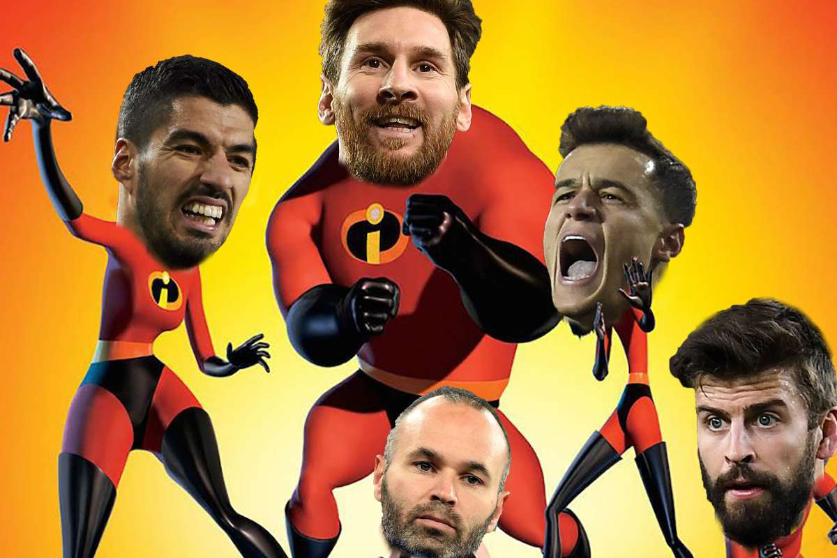 Messi S Incredibles Barcelona And Pixar In Animated Movie