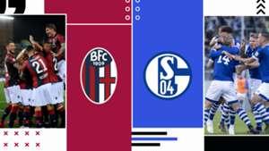 Bologna-Schalke 04 tv streaming