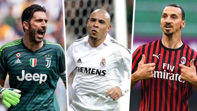 Buffon Ronaldo Ibrahimovic