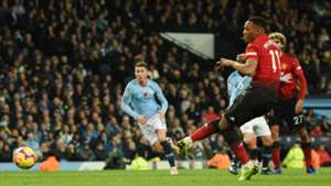 Anthony Martial Manchester City vs Manchester United Premier League 2018-19
