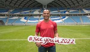 Cafu 2022 World Cup Qatar AmbassadorCafu 2022 World Cup Qatar Ambassador