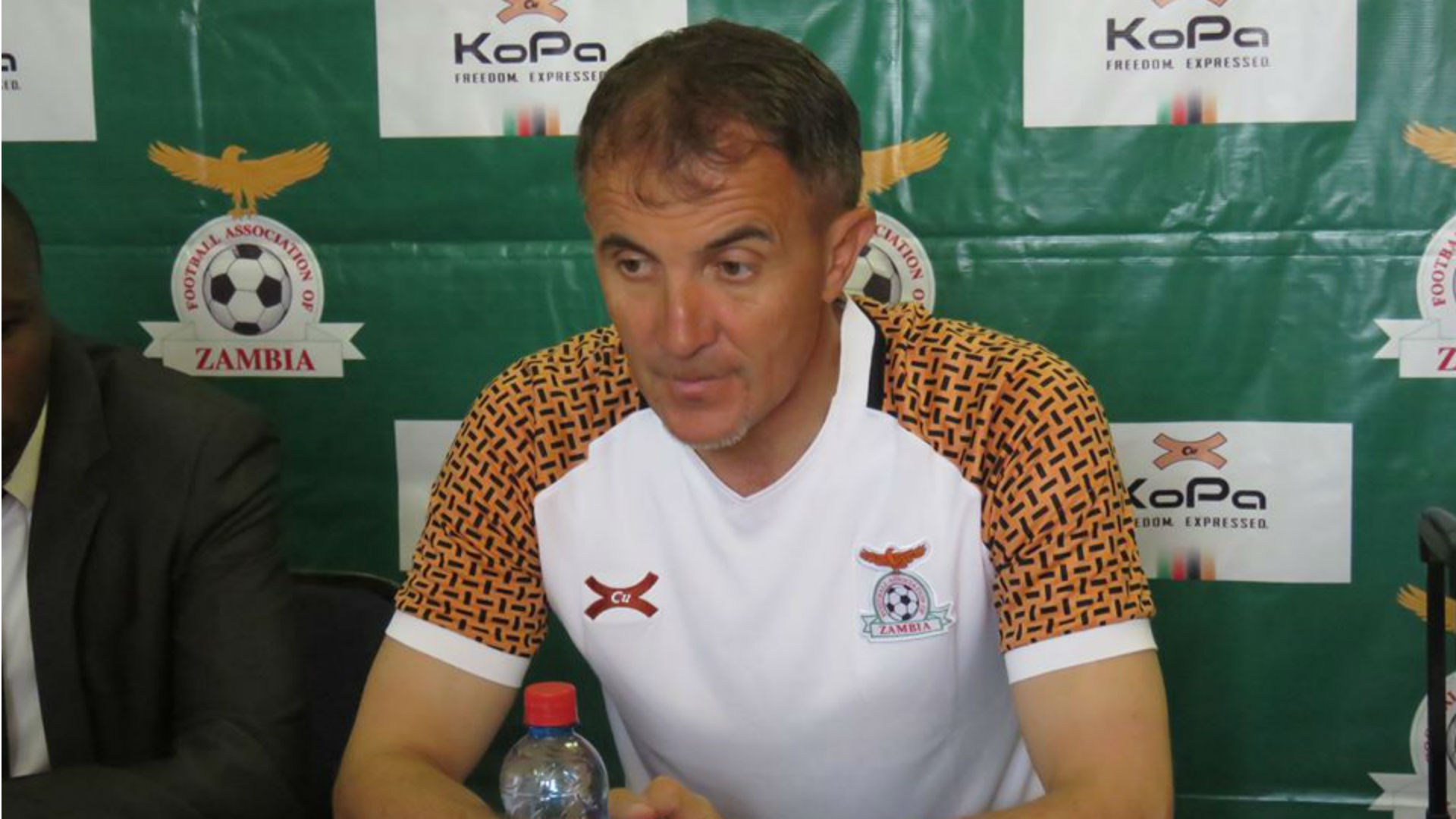 Sredojevic to Chama, Chirwa: I am no more Mr Nice Guy for Zambia