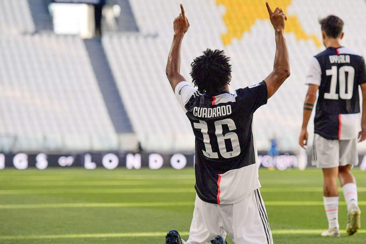Golazo de Juan Guillermo Cuadrado con la Juventus ante Torino ...
