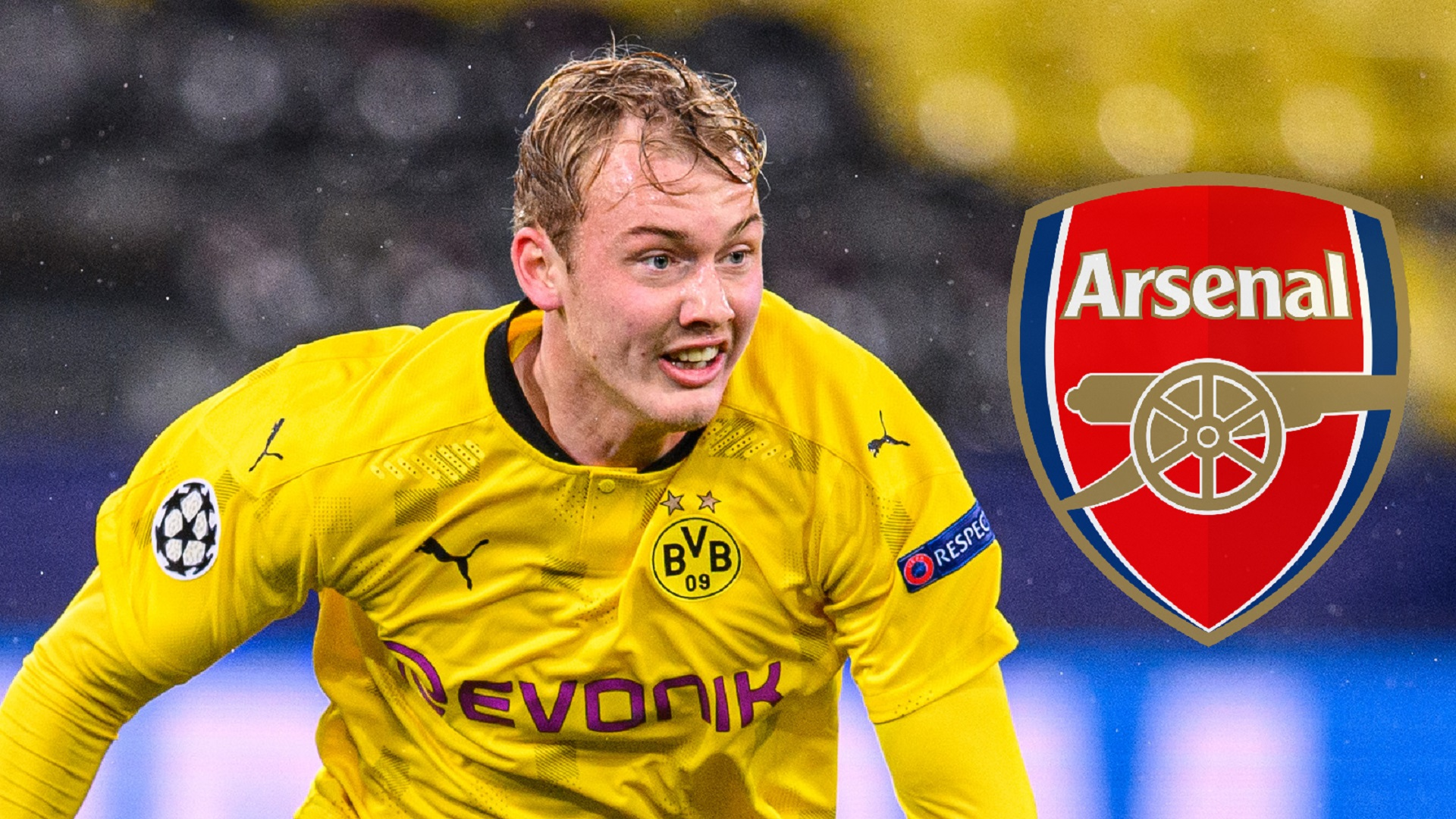 'There is nothing on the table' - Borussia Dortmund rubbish Brandt to Arsenal rumours