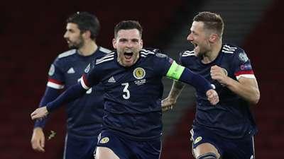 Andrew Robertson Scotland 2020