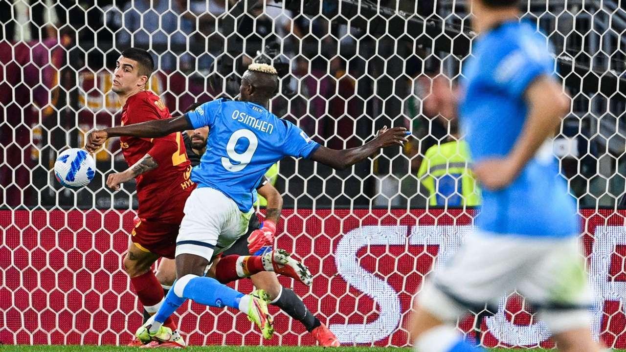 Victor Osimhen Roma Napoli Serie A