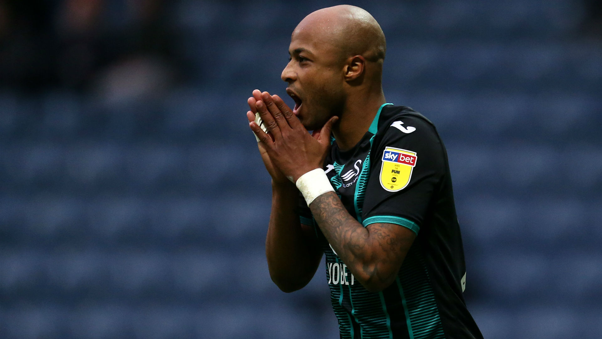 Andre Ayew's promotion hopes end as Benrahma's Brentford beat Swansea