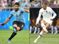 Uruguay Portugal WM 2018 28062018