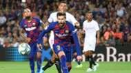 Barcelona Sevilla Gerard Pique Liga 2019/2020