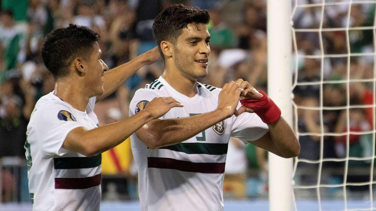 Raul Jimenez Mexico Gold Cup 2019