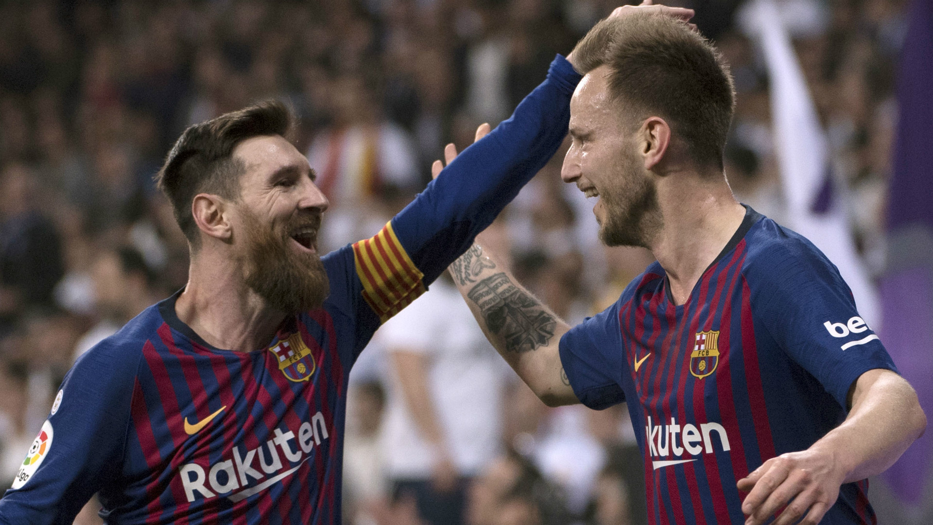 'We would find a place for Messi!' - Rakitic jokes about Barcelona star joining him at Sevilla