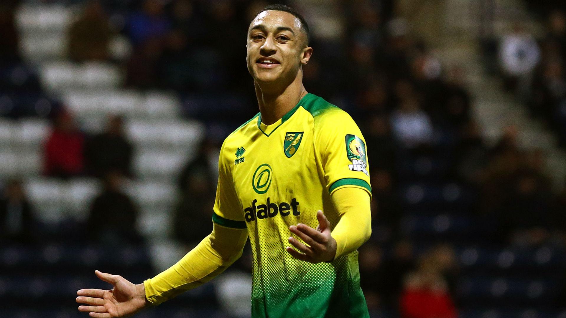 Norwich City's Idah picks favourite goal of his memorable hat-trick