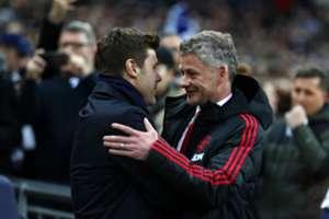 Ole Gunnar Solskjaer Mauricio Pochettino Tottenham Hotspur Manchester United