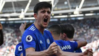 Harry Maguire Leicester City 2018-19