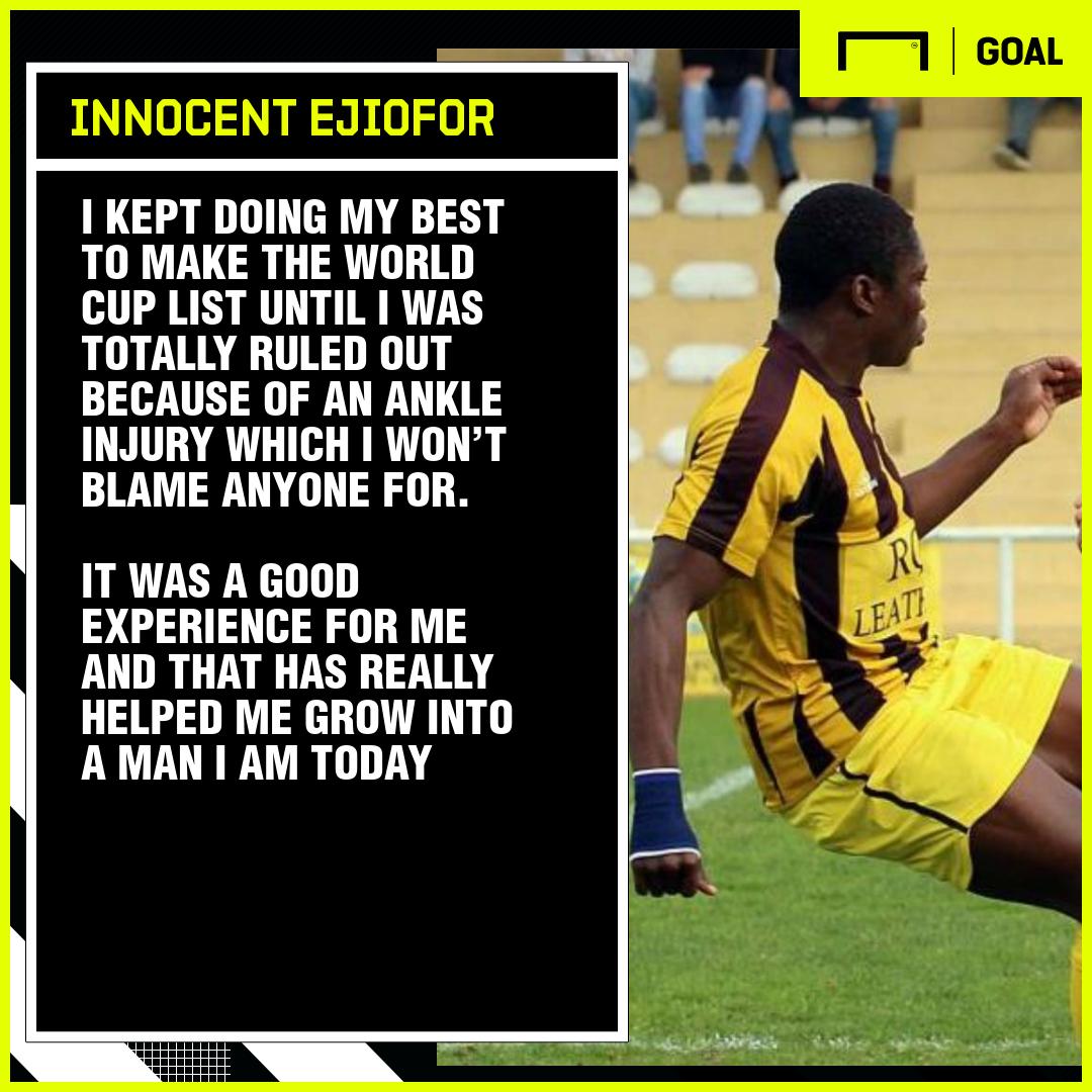 AC Alcanenense's Ejiofor: U17 World Cup miss helped me grow into a man