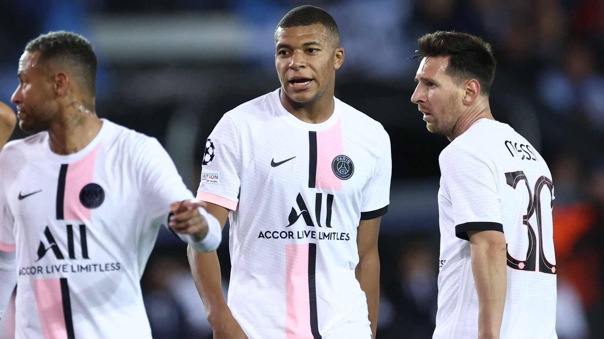 Mbappe admits to calling Neymar a 'bum' in bench outburst but insists there is no rift at PSG