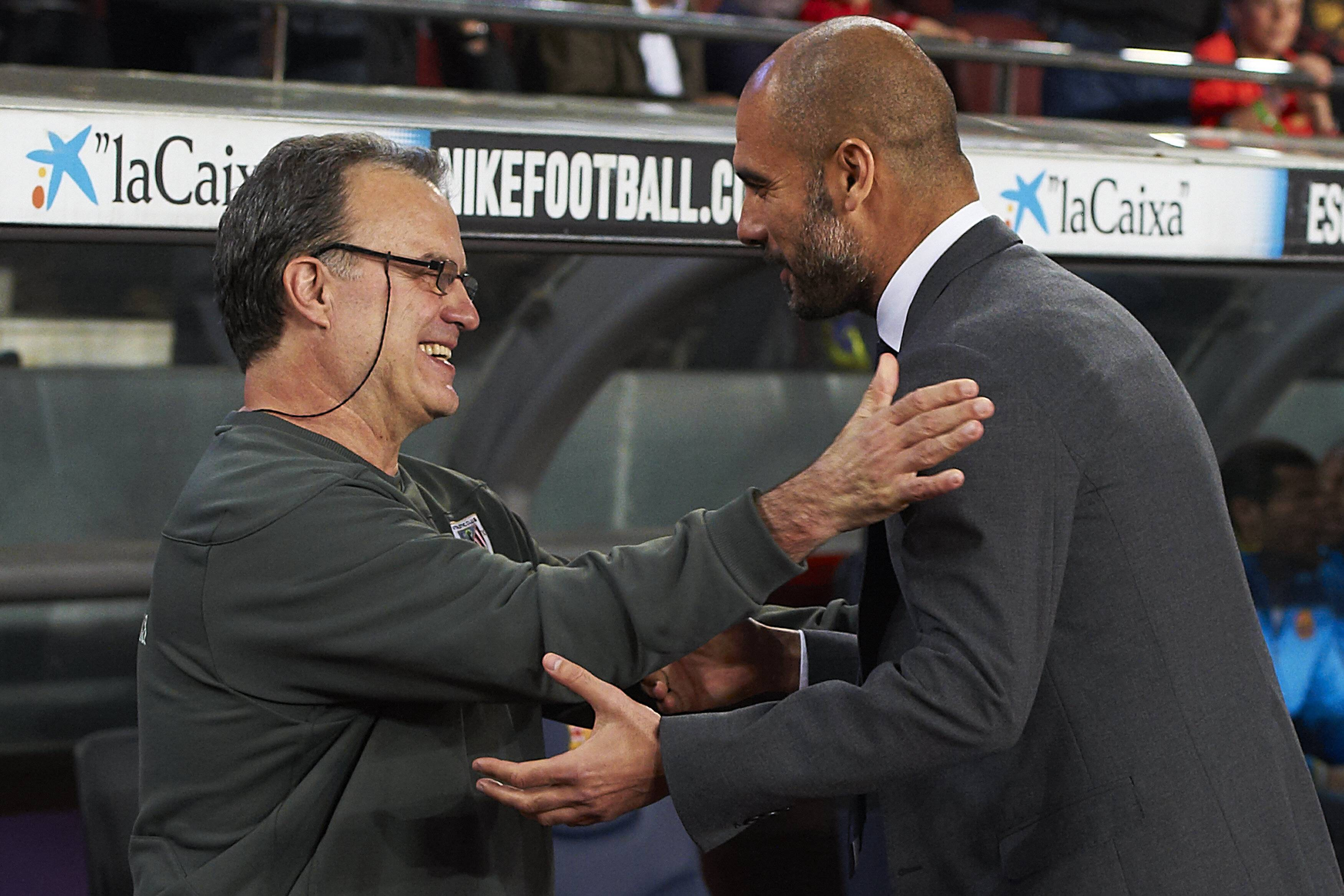 "Man City - Guardiola : ""Bielsa en Premier League, c'est incroyable"""