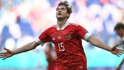 Aleksey Miranchuk Finland Russia Euro 2020