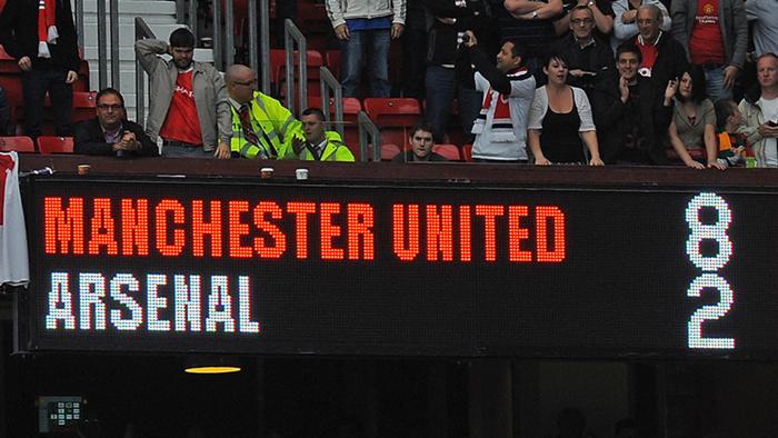 Manchester United Arsenal Premier League 2011-12