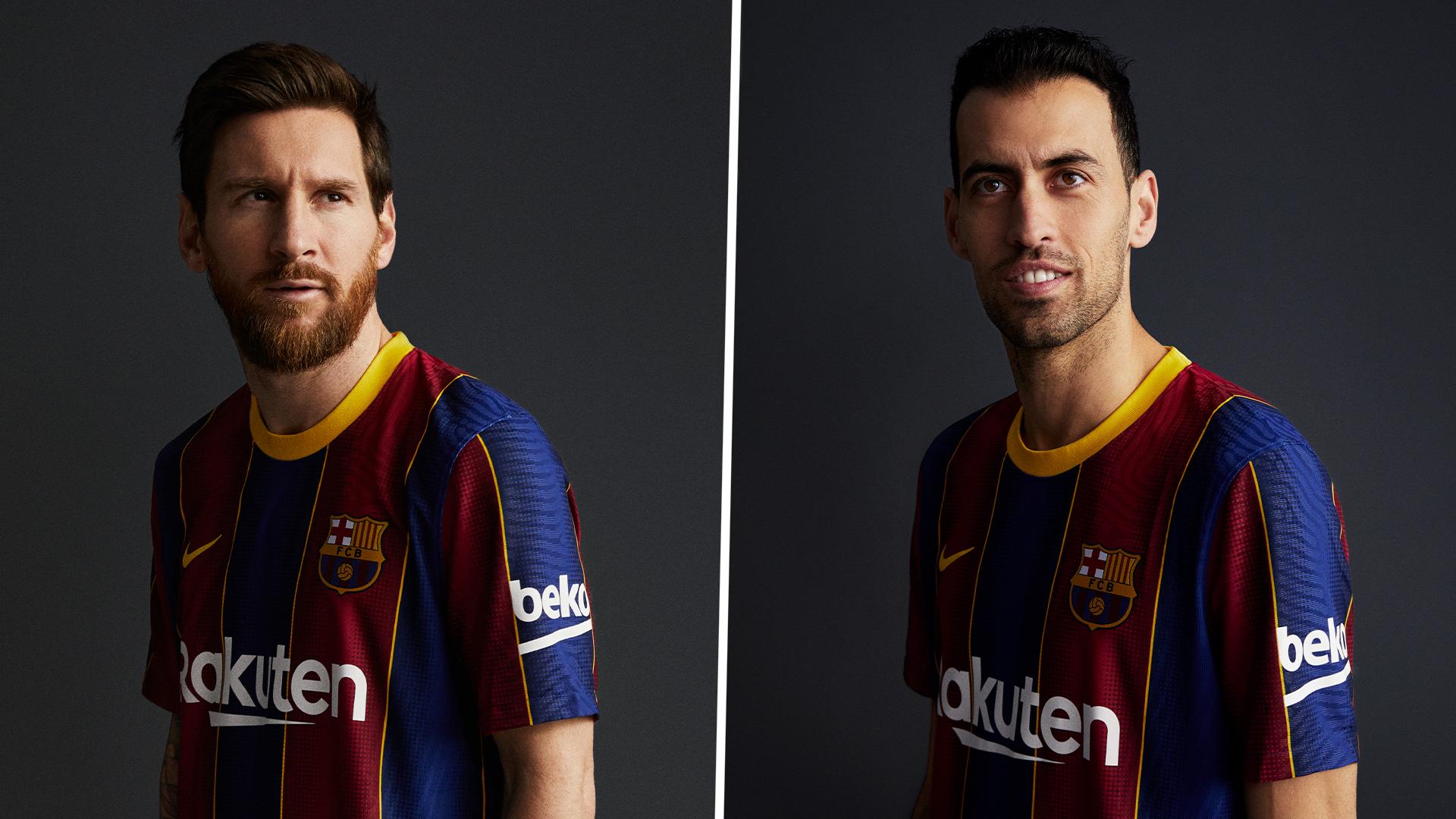 Barcellona, svelata la nuova maglia 2020/2021: ispirata agli anni ...