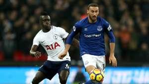 Cenk Tosun Tottenham Everton 01132018