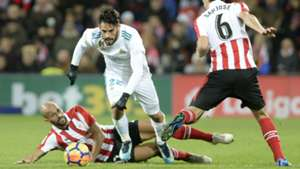 Real Madrid Athletic Club LaLiga 02122017.jpg Alt Text *  Caption  Credit  Source  Sizes(6 x Auto Generated, 1 x Manual)  Isco Real Madrid Bilbao 02122017