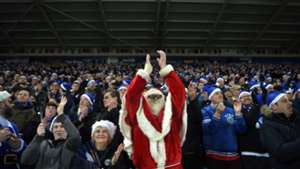 Is any football played on Christmas Day around the world?