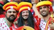 Spain fans Euro 2016