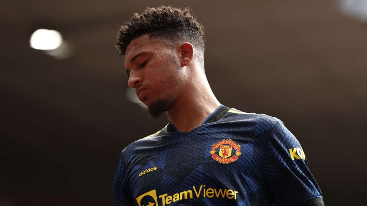 Jadon Sancho Manchester United 2021-22