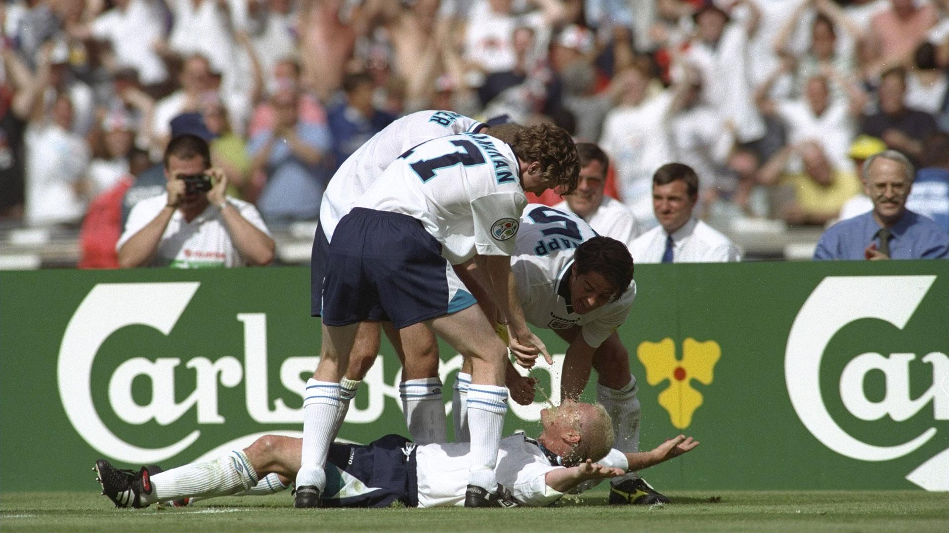 Explained: Gascoigne's iconic Euro 96 celebration in England vs Scotland classic
