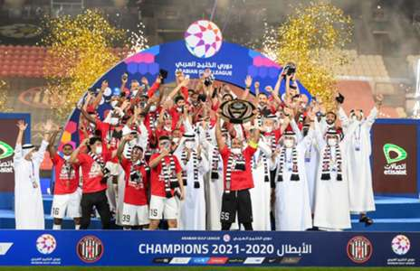 Al Jazira crowned Arabian Gulf League champions!