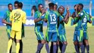 Adisa Omar and KCB squad.