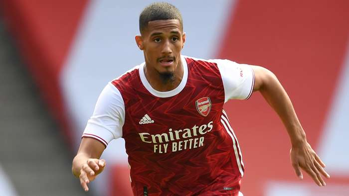 William Saliba Arsenal 2020-21