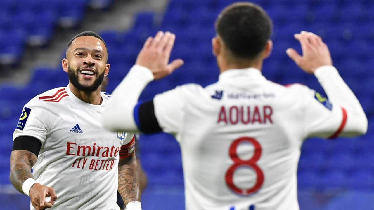 Memphis Depay Lyon Monaco Ligue 1 25102020