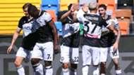 De Paul Udinese Bologna celebrating Serie A
