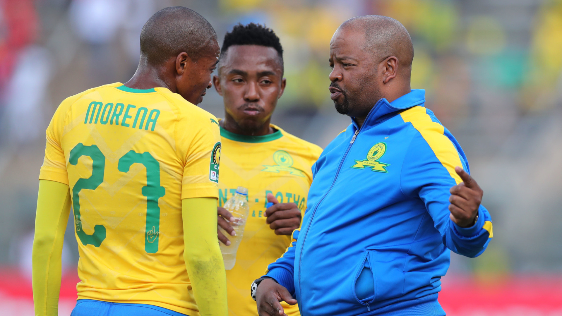 Mamelodi Sundowns coach Mngqithi reveals how Covid-19 is affecting the squad