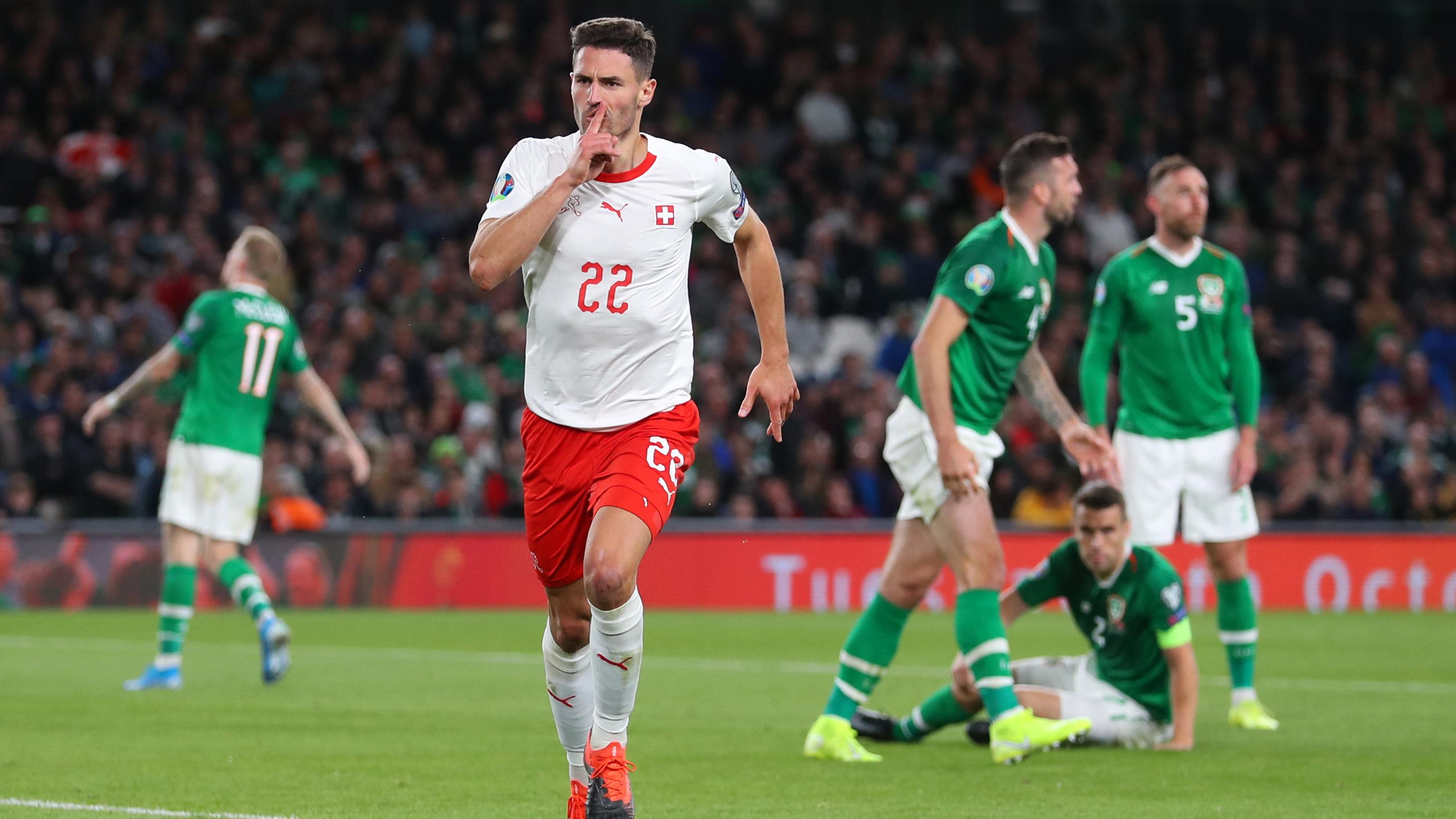 Schweiz Irland Tv Live Stream Highlights Aufstellungen