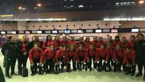 Morocco U20 women in Nigeria