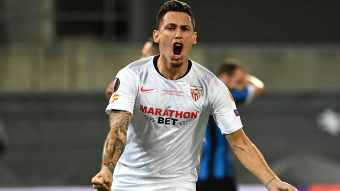 Lucas Ocampos Sevilla Europa League final
