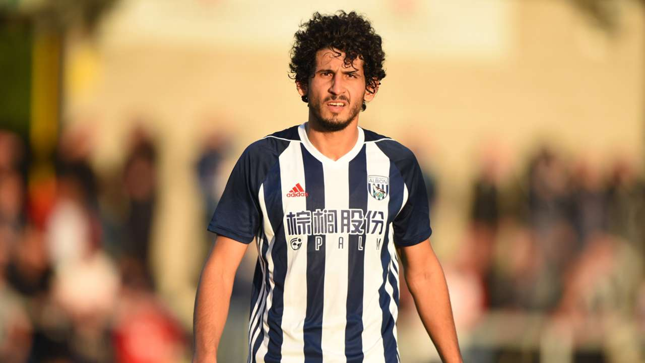 Ahmed Hegazy of West Bromwich Albion