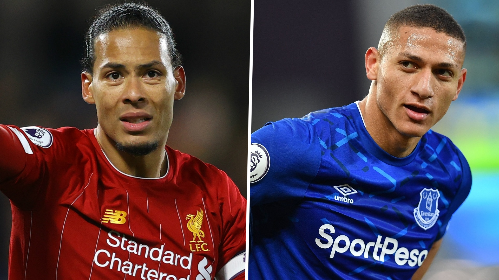 'There are better defenders' - Richarlison takes shot at Van Dijk ahead of Merseyside derby