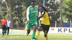 Kenneth Muguna of Gor Mahia v Jackson Macharia of Tusker