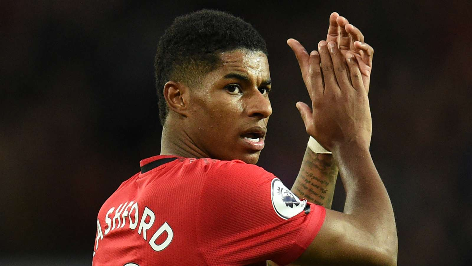 Marcus Rashford Man Utd vs Liverpool 2019-20