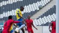 Peter Shalulile, Mamelodi Sundowns & Given Msimango, TS Galaxy, May 2021