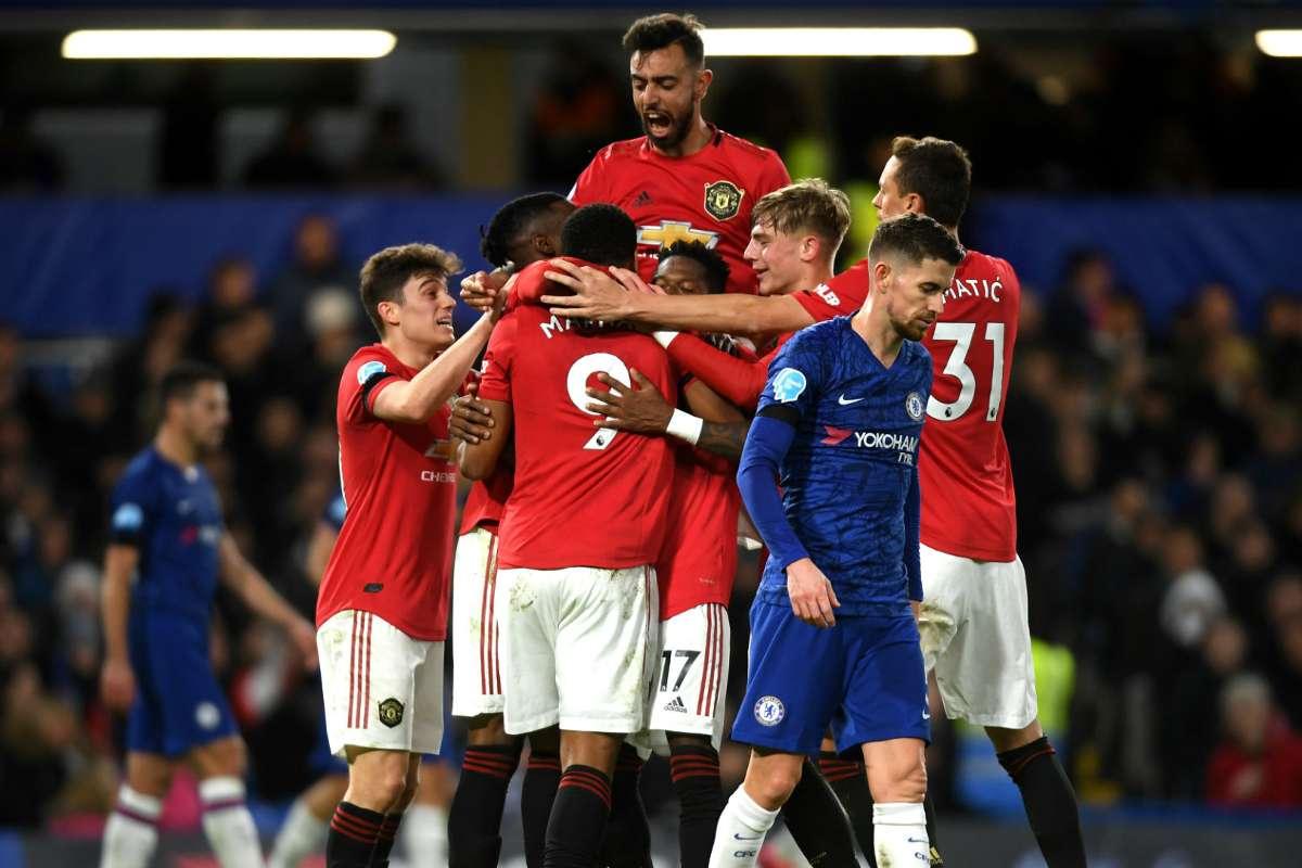 Laporan Pertandingan Chelsea Vs Manchester United